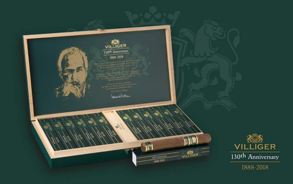 Villiger 130 years of Villiger Cigars
