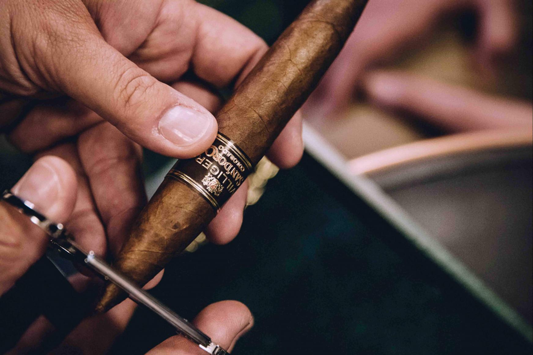 cigarre anscheiden